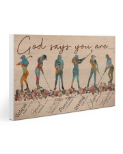 Golf - God Says You Are 30x20 Gallery Wrapped Canvas Prints thumbnail