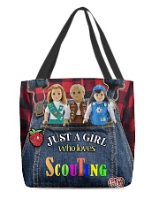 Scout - Just A Girl Who Loves All-over Tote front