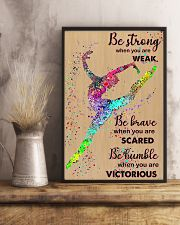 Gymnastic - Be Strong 11x17 Poster lifestyle-poster-3