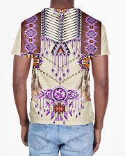 Native American Pink All-over T-Shirt aos-all-over-T-shirt-lifestyle-back-02