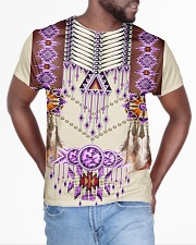 Native American Pink All-over T-Shirt aos-all-over-T-shirt-lifestyle-front-04