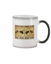 Hippie - Be Strong Everyday Poster 19 Color Changing Mug thumbnail