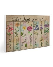 Garden Poster 30x20 Gallery Wrapped Canvas Prints thumbnail