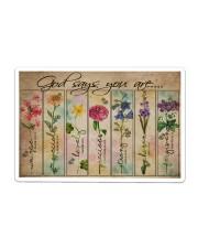 Garden Poster Sticker - Single (Horizontal) thumbnail
