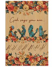 Books God Says You Are 11x17 Poster front