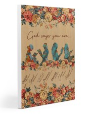 Books God Says You Are 20x30 Gallery Wrapped Canvas Prints thumbnail