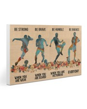 Soccer Be Strong Gallery Wrapped Canvas Prints tile