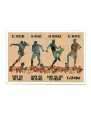 Soccer Be Strong Sticker tile