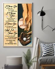 Baseball - I Choose You Poster 11x17 Poster lifestyle-poster-1