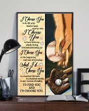 Baseball - I Choose You Poster 11x17 Poster lifestyle-poster-2