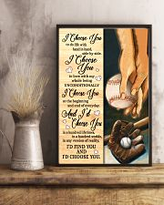 Baseball - I Choose You Poster 11x17 Poster lifestyle-poster-3