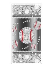 Baseball - Silver Phonecase Sticker tile