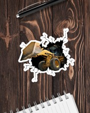 Bulldozer Crack Sticker - Single (Horizontal) aos-sticker-single-horizontal-lifestyle-front-05