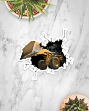 Bulldozer Crack Sticker - Single (Horizontal) aos-sticker-single-horizontal-lifestyle-front-06