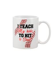 Baseball I Teach My Kid Mug front