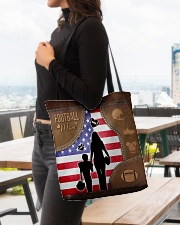 Football Mom Tote All-over Tote aos-all-over-tote-lifestyle-front-04