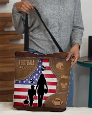 Football Mom Tote All-over Tote aos-all-over-tote-lifestyle-front-10