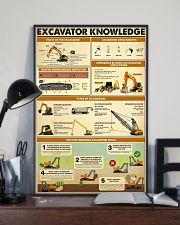 Excavator Knowledge  11x17 Poster lifestyle-poster-2