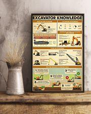 Excavator Knowledge  11x17 Poster lifestyle-poster-3