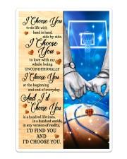 Basketball Couple I Choose You Sticker - Single (Vertical) thumbnail