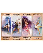 Gymnastics - Be Strong 17x11 Poster front