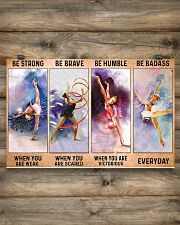 Gymnastics - Be Strong 17x11 Poster poster-landscape-17x11-lifestyle-14