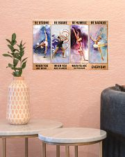Gymnastics - Be Strong 17x11 Poster poster-landscape-17x11-lifestyle-21
