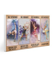 Gymnastics - Be Strong 30x20 Gallery Wrapped Canvas Prints thumbnail