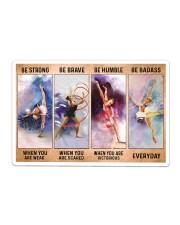 Gymnastics - Be Strong Sticker - Single (Horizontal) thumbnail