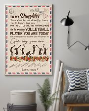To My Daughter Volleyball Player 11x17 Poster lifestyle-poster-1