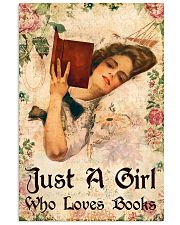 Book - A Girl Who Loves Books 11x17 Poster front