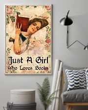 Book - A Girl Who Loves Books 11x17 Poster lifestyle-poster-1