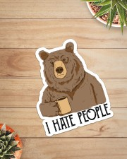 Camping - I Hate People Sticker - Single (Vertical) aos-sticker-single-vertical-lifestyle-front-07