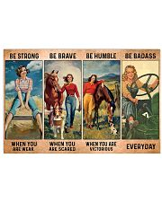 Farm Girl - Be Strong - DKHDTN181120 17x11 Poster front