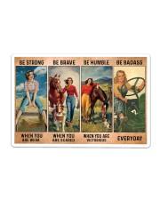 Farm Girl - Be Strong - DKHDTN181120 Sticker - Single (Horizontal) thumbnail