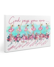 Ballet - God Says You Are 30x20 Gallery Wrapped Canvas Prints thumbnail