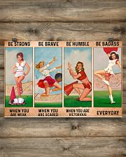 Cheerleader - Be Strong 17x11 Poster poster-landscape-17x11-lifestyle-14
