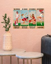 Cheerleader - Be Strong 17x11 Poster poster-landscape-17x11-lifestyle-21