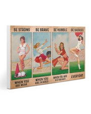 Cheerleader - Be Strong 30x20 Gallery Wrapped Canvas Prints thumbnail