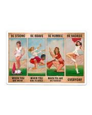 Cheerleader - Be Strong Sticker - Single (Horizontal) thumbnail