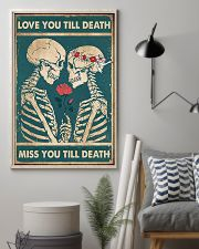 Skull - Love You Till Death 11x17 Poster lifestyle-poster-1