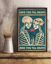 Skull - Love You Till Death 11x17 Poster lifestyle-poster-3