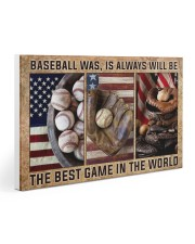 Baseball Best Game In The World Gallery Wrapped Canvas Prints tile