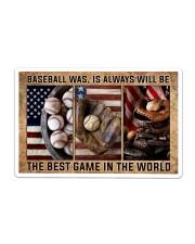 Baseball Best Game In The World Sticker tile