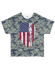 Faith Camo American All Over Tshirt All-over T-Shirt front