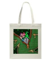 St Patricks Day Gnome Shamrock Tote Bag Tote Bag thumbnail