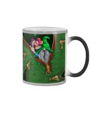 St Patricks Day Gnome Shamrock Tote Bag Color Changing Mug thumbnail