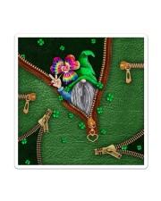 St Patricks Day Gnome Shamrock Tote Bag Sticker - Single (Vertical) thumbnail