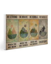 Camping Poster Gallery Wrapped Canvas Prints tile
