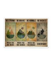 Camping Poster Sticker tile
